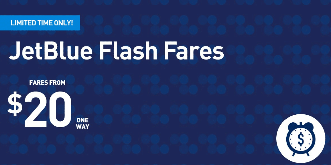 Jetblue Flash Sale