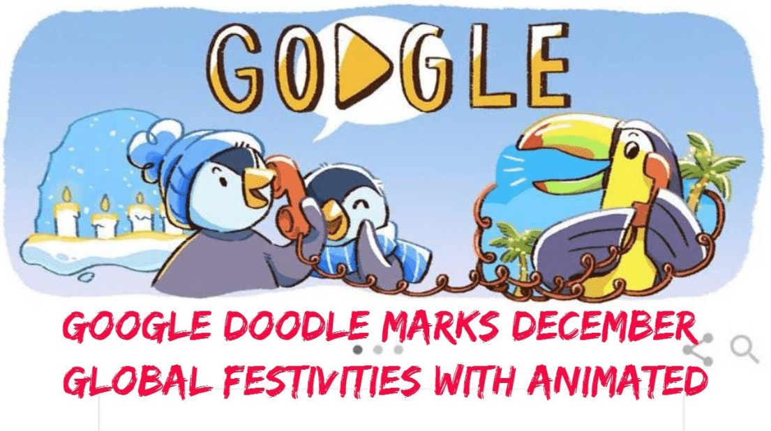 December Global Festivities Google Doodle