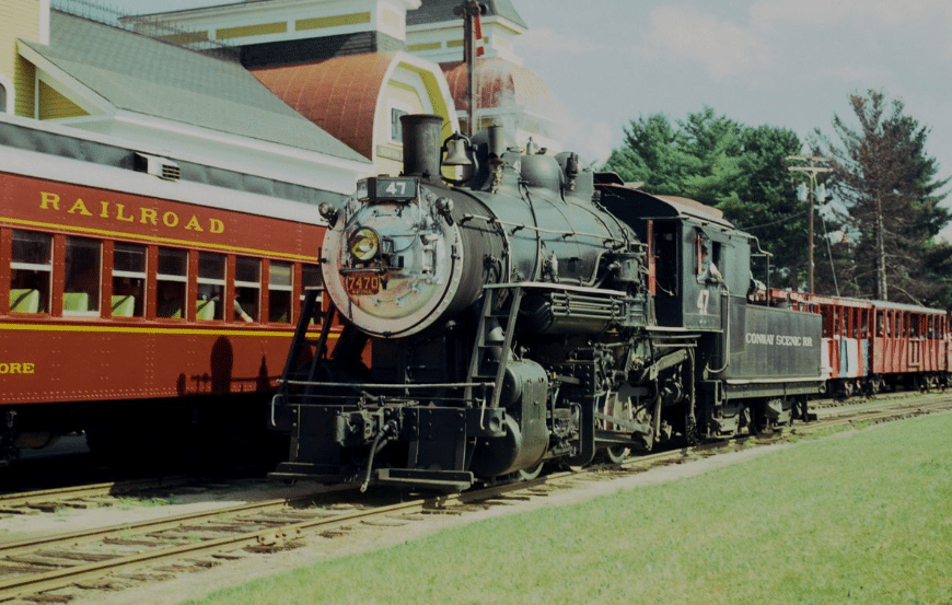 Take A Trip & Enjoy Lunch Along The Historic Conway Railroad